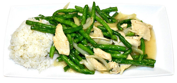 CHICKEN WITH GREEN BEANS *