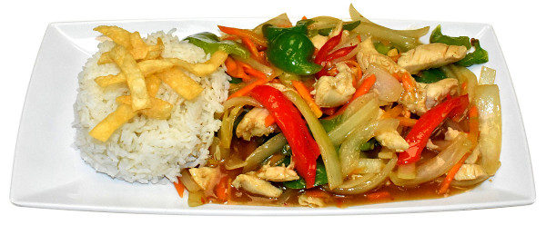 MONGOLIAN CHICKEN *