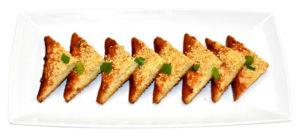Sesame Chicken Toast